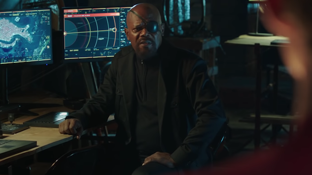 Samuel L. Jackson Calls out Inconsistency in <i>Spider-Man: Far From Home</i> Poster