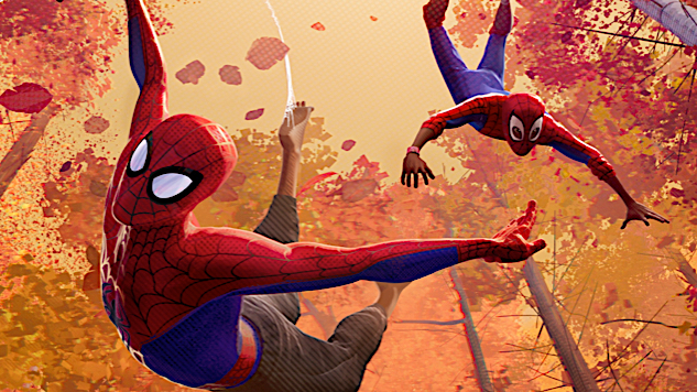 Enter Multiple Web-Slingers in First <i>Spider-Man: Into the Spider-Verse</i> Trailer