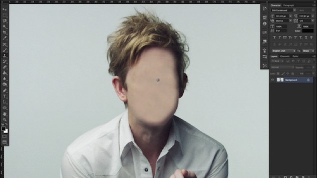 "Britt Daniel Gets Photoshopped Into Oblivion in Spoon's ""Do I Have To Talk You Into It"" Video"