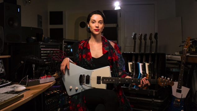 St. Vincent Details Her Signature Ernie Ball Guitar Line's 2018 Update