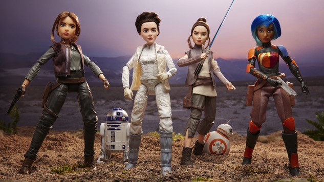 The <i>Star Wars</i> Female Heroes Are Finally Getting Their Own Action Figure Line