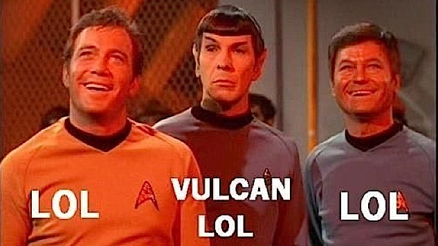 Feeling Meme-ish: <i>Star Trek</i>