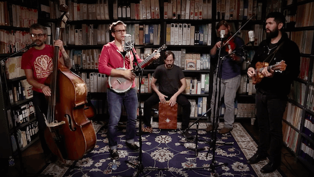 "Paste Sessions: Watch The Steel Wheels Channel Doc Watson With Stunning ""Spike Driver Blues"""
