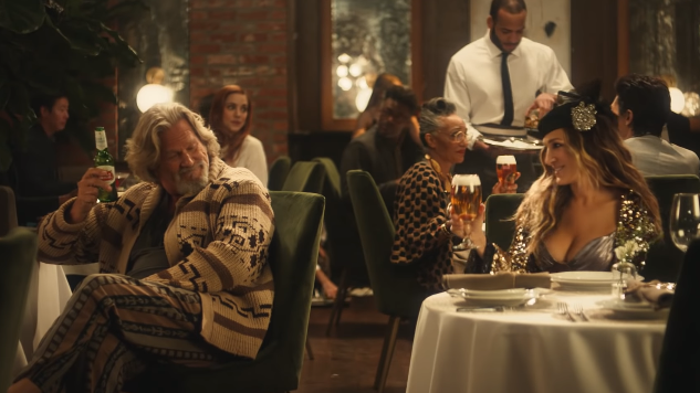 Carrie Bradshaw, The Dude appear in Stella Artois Super Bowl ad