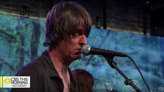 "Watch Stephen Malkmus & The Jicks Perform ""Solid Silk"" on <i>CBS This Morning</i>"