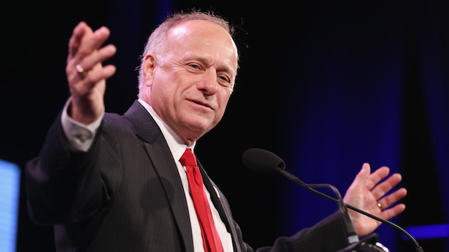 Steve King Wants to Fund the Border Wall by Gutting Food Stamps, Planned Parenthood