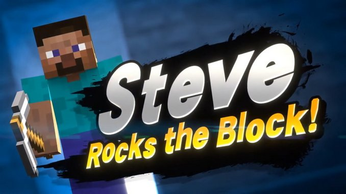 Steve and Alex from <I>Minecraft</I> Are the Latest Fighters Coming to <I>Super Smash Bros. Ultimate</I>