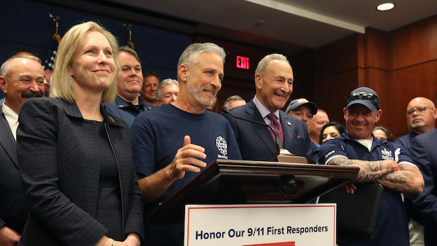 Jon Stewart-Backed Bill for 9/11 First Responders Passed by Senate