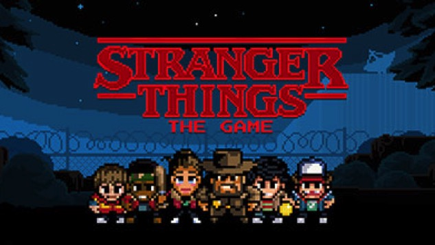 Explore the Pixelated World of <i>Stranger Things</i> in New Mobile Game