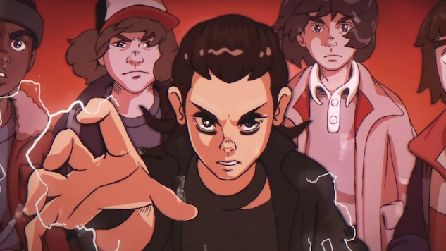 This Fan-Made Clip Proves an Anime <i>Stranger Things</i> Would Be Awesome