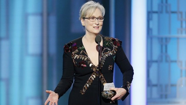 Conservative Twitter Loses Its Mind as Meryl Streep Advocates for Freedom of the Press, the Arts, and Tolerance at the Golden Globes