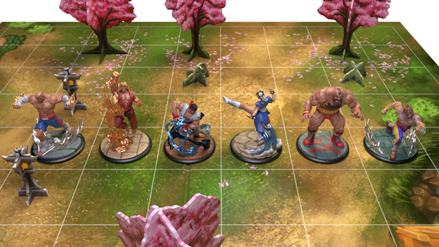 A <i>Street Fighter</i> Board Game Is On the Way and It Looks Beyond Rad