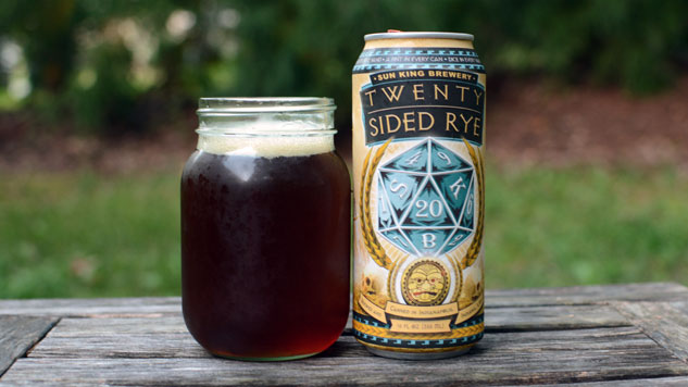 Sun King Brewery Twenty-Sided Rye
