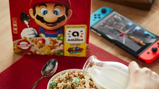 Super Mario Cereal is Headed to a Store Near You in December