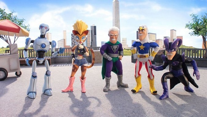 <i>SuperMansion</i> Heading to Adult Swim in 2017