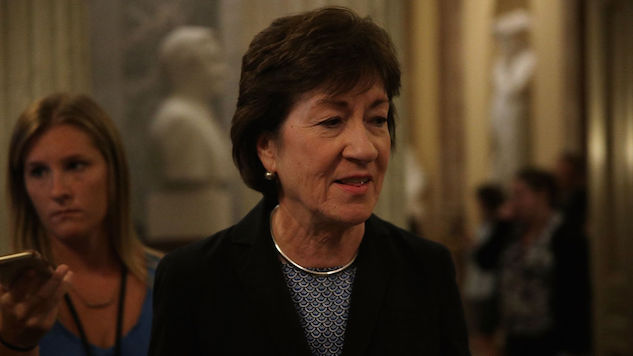 "Graham-Cassidy Is ""Not the Answer"": Sen. Collins to Vote No on GOP Healthcare Bill"