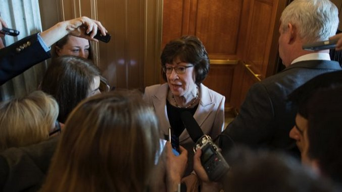 Susan Collins, A Uniquely Bad Senator, Turns to the Dark Money
