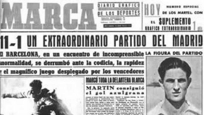 Throwback Thursday: Real Madrid vs Barcelona (June 13th, 1943)