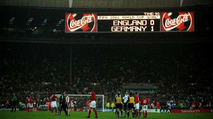 Throwback Thursday: England v Germany (October 7th, 2000)