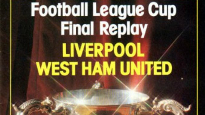 Throwback Thursday: Liverpool v West Ham, League Cup Final Replay (April 1st, 1981)