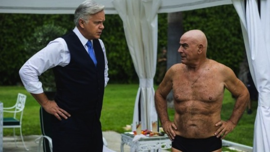 "<i>The Brink</i> Review: ""Swim, Schumley, Swim!"""
