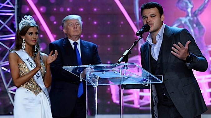 Watch Donald Trump's Weird Cameo in Video By Russian Pop Star at Center of Scandal