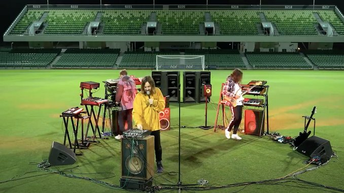Watch Tame Impala Perform in an Empty Stadium for <i>FIFA 21</i> Launch