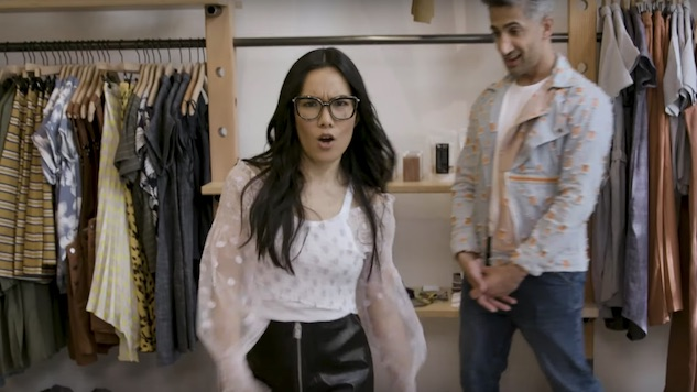 Tan France Turns Ali Wong Into a Movie Star Mom in Latest <i>Dressing Funny</i> Episode