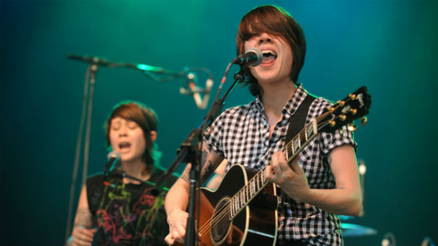 Two Hand-Painted Guitars Stolen from Tegan and Sara