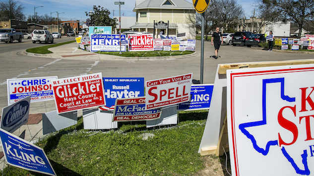 What the Texas Primaries Might Tell us About the Midterm Elections