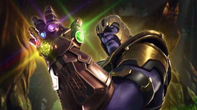 Thanos Drops into <i>Fortnite</i> for <i>Infinity War</i> Crossover