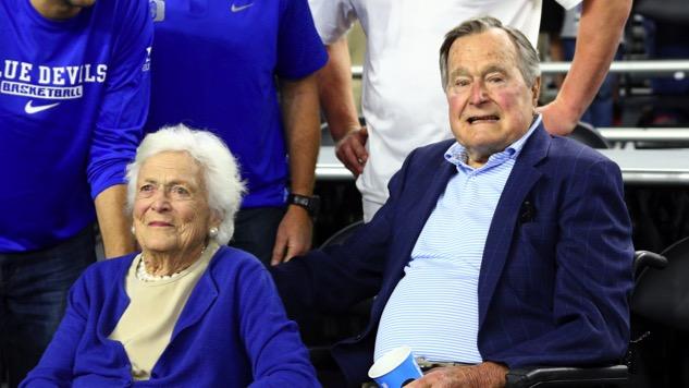George H.W. Bush and Barbara Bush Now Both Hospitalized
