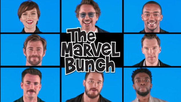 "<i>The Tonight Show</i> Would Like You to Meet ""The Marvel Bunch"""