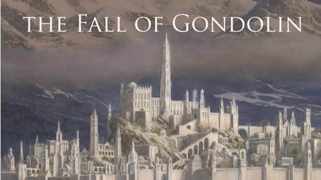 New Book by JRR Tolkien is called the The Fall of Gondolin