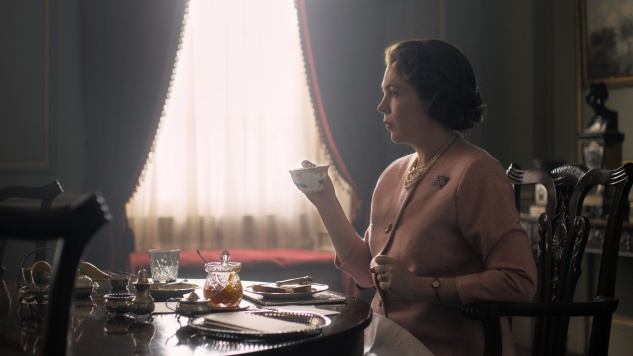 The New Queen: Get a First Look at Olivia Colman as Elizabeth II on <I>The Crown</i>