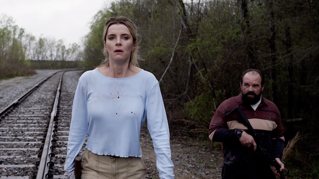 Watch Betty Gilpin, Emma Roberts and More Try to Survive in Brutal