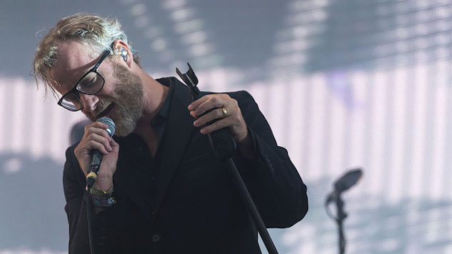 "Watch The National Sing ""I Need My Girl"" with Maggie Rogers at Boston Calling"