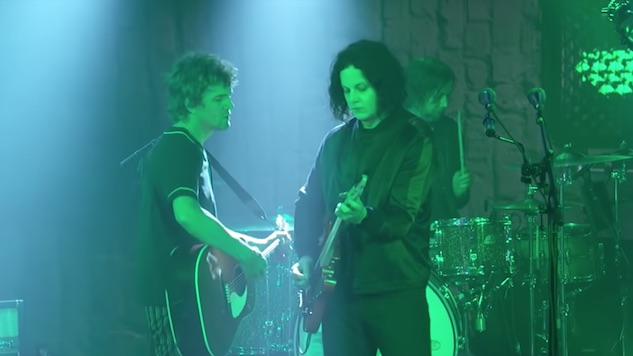 Watch The Raconteurs Perform Two Tracks on <i>Jimmy Kimmel Live!</i>