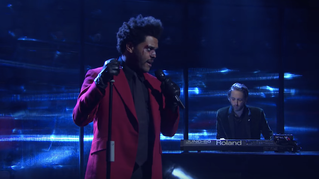 Watch The Weeknd Perform with Oneohtrix Point Never on <i>SNL</i>