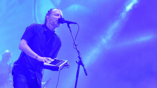 "Watch Thom Yorke Live-Debut Cryptic New Track ""The Axe"""