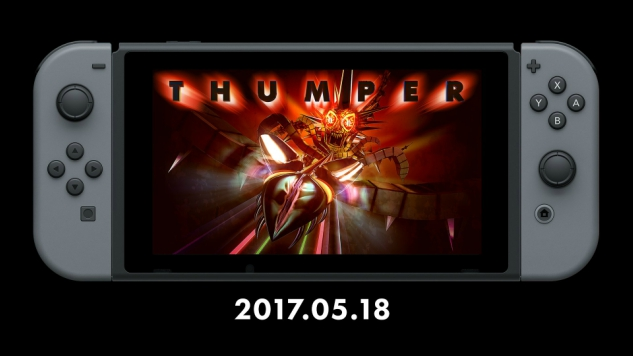 <i>Thumper</i> Comes to the Switch This Month
