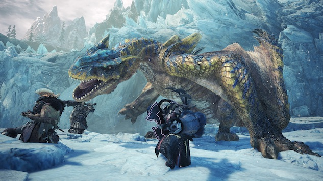 Playstation Plus Users Get First Dibs on <i>Monster Hunter World: Iceborne</i> Beta