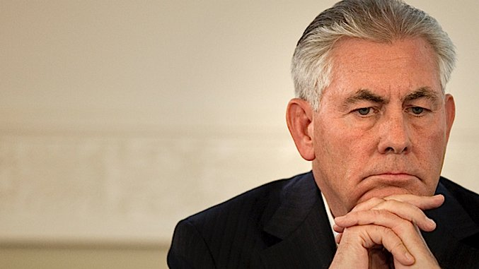 On Rex Tillerson and the Disappearing Line Between Business and Politics