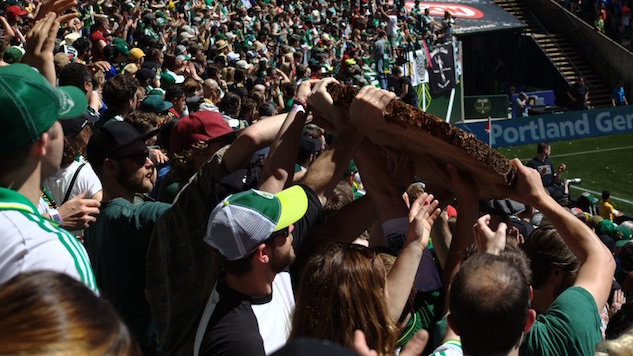 A Sea of Green: A Day Out in Portland with the Timbers Army