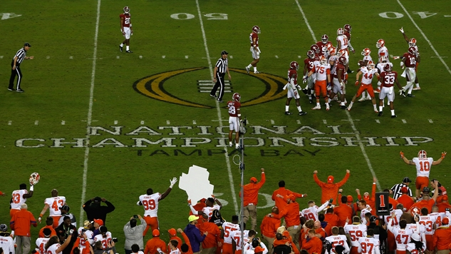 The College Football National Championship Was Yet Another Example of the NCAA's Sham Known as Amateurism
