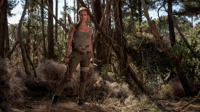 See Alicia Vikander's Lara Croft in Action in New <i>Tomb Raider</i> Trailer Tease, Poster