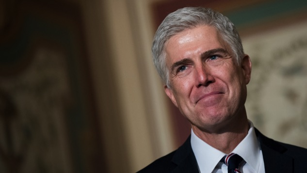 Too Little, Too Late: Neil Gorsuch's Nomination Speaks Louder Than His Words