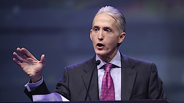 "Trey Gowdy to Donald Trump: If You're Really Innocent, ""Act Like It"""