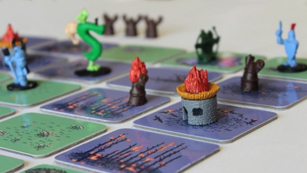 <i>Trogdor!! The Board Game</i> Burninates Kickstarter Goal