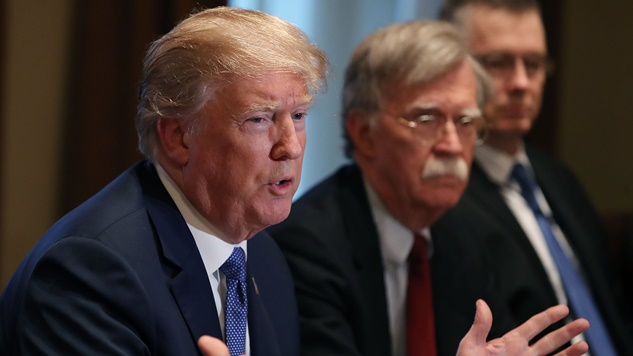 John Bolton Is the Gadfly Tormenting the See-No-Evil Republicans (and Trump, Too)